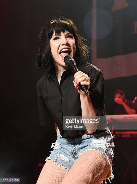 Carly Rae Jepsen performs onstage during WBLI Summer Jam 2015 at Nikon at Jones Beach Theater on June 13 2015 in Wantagh New York