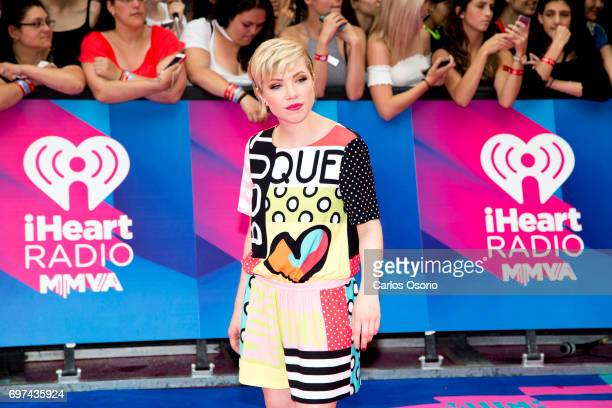 TORONTO ON JUNE 18 Carly Rae Jepsen Presenter Canadian singer/songwriter/actress walks the carpet at the 2017 iHeartRadio Much Music Video Awards in...