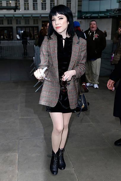 4479486bb13102 Carly Rae Jepsen seen the BBC Radio 1 Studios on December 7, 2015 in London