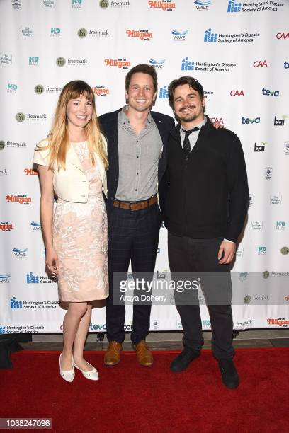 Carly Ritter Tyler Ritter and Jason Ritter attend the 4th Annual Freeze HD at NeueHouse Los Angeles on September 22 2018 in Hollywood California