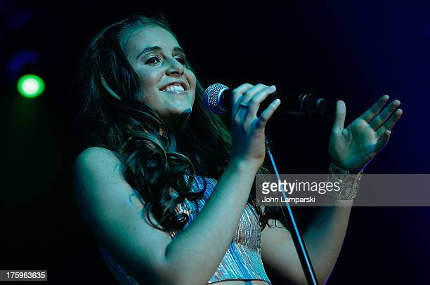 Carly Rose Sonenclar performs at the Best Buy Theater on August 10 2013 in New York City
