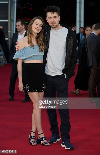 Carly Rowena attends the Laid In America World Premiere at Cineworld 02 Arena on September 26 2016 in London England