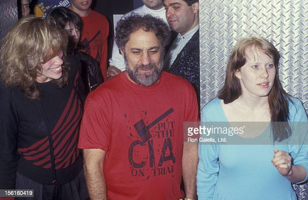 Carly Simon Abbie Hoffman and Amy Carter attend I Spy Ball on March 27 1987 at the Saint in New York City
