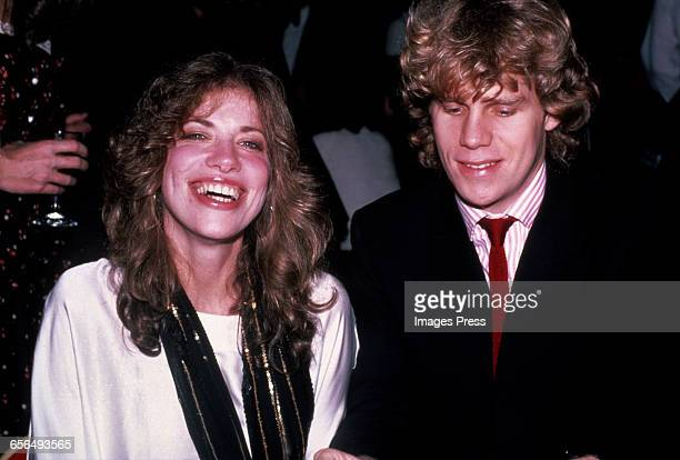 Carly Simon and Al Corley circa 1982 in New York City