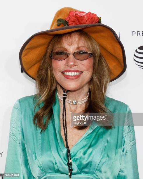 Carly Simon attends the Clive Davis The Soundtrack of Our Lives 2017 Opening Gala of the Tribeca Film Festival at Radio City Music Hall on April 19...