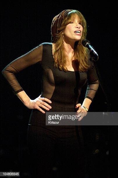 Carly Simon during TNT AllStar Tribute to Brian Wilson at Radio City Music Hall in New York City New York United States
