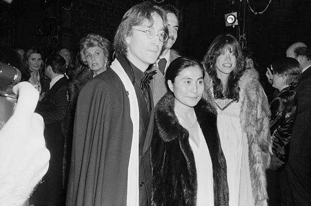 Carly Simon;  Yoko Ono;  James Taylor and John Lennon