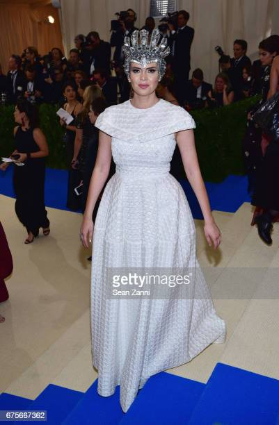 Carly Steel arrives 'Rei Kawakubo/Comme des Garcons Art Of The InBetween' Costume Institute Gala at The Metropolitan Museum on May 1 2017 in New York...