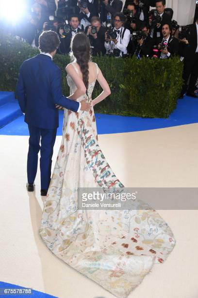 Carly Steel attends 'Rei Kawakubo/Comme des Garcons Art Of The InBetween' Costume Institute Gala Arrivals at Metropolitan Museum of Art on May 1 2017...