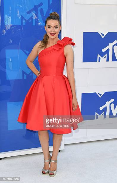 Carly Steel attends the 2016 MTV Video Music Awards on August 28 2016 at Madison Square Garden in New York / AFP / Angela Weiss