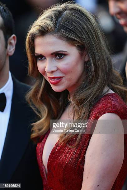 Carly Steel attends the 'Cleopatra' premiere during The 66th Annual Cannes Film Festival at The 60th Anniversary Theatre on May 21 2013 in Cannes...