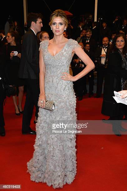 "Carly Steel attends the ""Maps To The Stars"" premiere during the 67th Annual Cannes Film Festival on May 19, 2014 in Cannes, France."