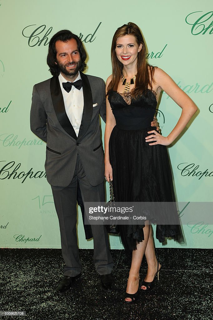 Carly Steele and guest at the 'Chopard 150th Anniversary Party' during the 63rd Cannes International Film Festival.