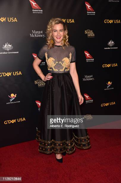 Carly Vidal Wallace attends the 16th annual G'Day USA Los Angeles Gala at 3LABS on January 26 2019 in Culver City California