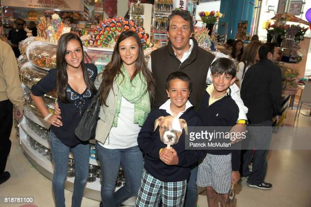 Carly Vissicchio Alexandra Osipow AJ Vissicchio and Matthew Vissicchio Drew Vissicchio attend DYLAN'S CANDY BAR hosts 'Sweet Adoptions' for The ASPCA...