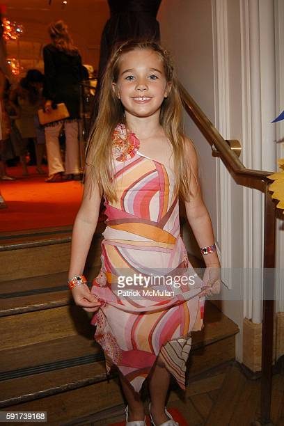 Carly Watman attends Madonna Childrens Book Lotsa de Casha published by Callaway Arts and Entertainment at Bergdorf Goodman on June 7 2005 in New...