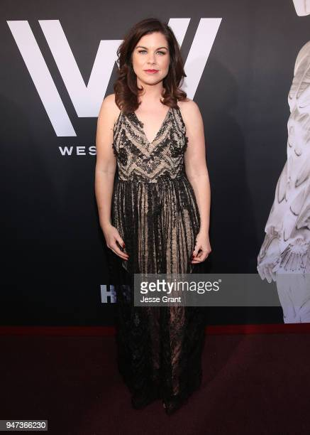 Carly Wray attends the Premiere of HBO's Westworld Season 2 at The Cinerama Dome on April 16 2018 in Los Angeles California