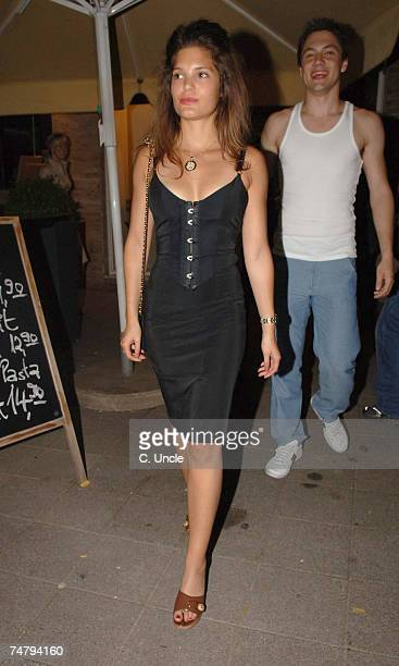 Carly Zucker at the England Players Wives and Girlfriends Enjoy a Night Out at Restaurant and Local Bar - June 29, 2006 at Brenner Park Hotel in...
