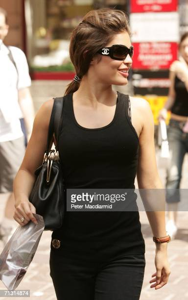Carly Zucker wallks during a shopping trip on June 28 2006 in BadenBaden Germany