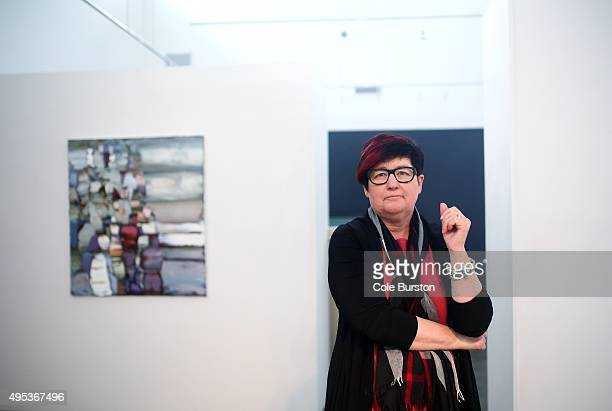 Carlyn Moulton, who spearheaded this project poses for a portrait at her gallery 'OENO Gallery' in Prince Edward County on October 21, 2015. A former...