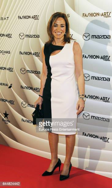 Carme Chacon attend the 'Fashion arts' photocall at Reina Sofia museum on February 23 2017 in Madrid Spain
