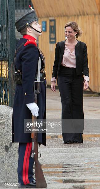 Carme Chacon attends the Pascua Military ceremony at Royal Palace on January 6 2011 in Madrid Spain