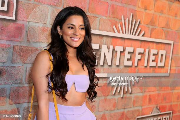 Carmela Zumbado attends the premiere of Netflix's GENTIFIED Season 1 at Margo Albert Theatre on February 20 2020 in Los Angeles California