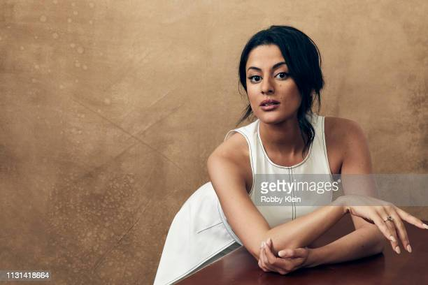 Carmela Zumbado of the film 'The Wall of Mexico' poses for a portrait at the 2019 SXSW Film Festival Portrait Studio on March 09 2019 in Austin Texas