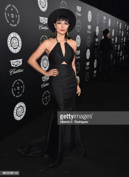 Carmelita Greco attends The Art Of Elysium's 11th Annual Celebration on January 6 2018 in Santa Monica California