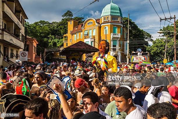 Carmelitas street party in Santa Teresa