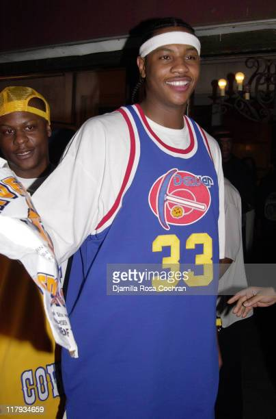 Carmelo Anthony 3rd pick in the 2003 NBA Draft by the Denver Nuggets
