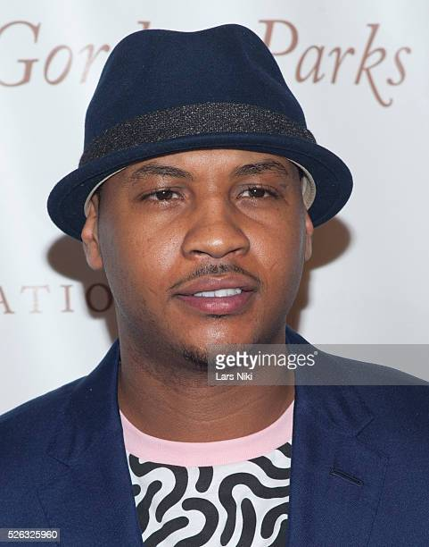 Carmelo Anthony attends the Gordon Parks Foundation Awards Dinner at the Plaza Hotel in New York City �� LAN