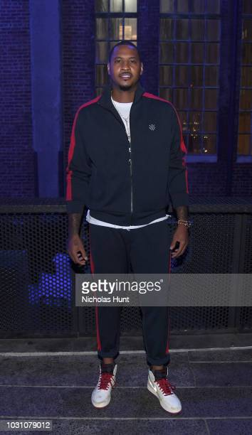 Carmelo Anthony attendsthe screening of the rag bone film Time Of Day at The High Line on September 10 2018 in New York City