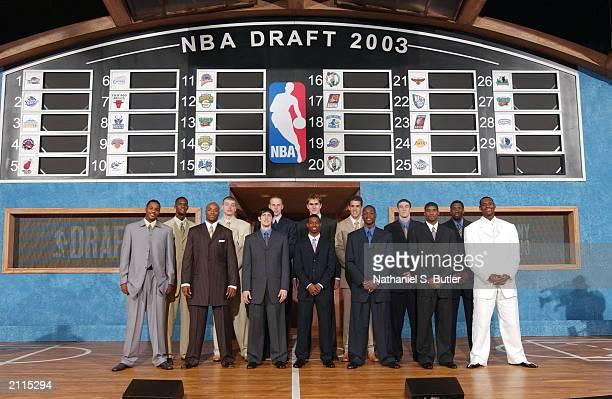 Carmelo Anthony, Chris Bosh, Jarvis Hayes, Maciej Lampe, Kirk Hinrich, Chris Kaman, T.J. Ford, Darko Milicic, Zarko Cabarkapa, Dwyane Wade, Nick...