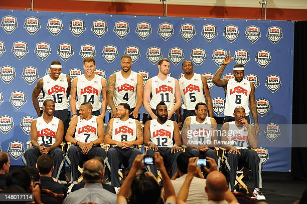 Carmelo Anthony Chris Paul Blake Griffin Russell Westbrook Tyson Chandler Deron Williams Kevin Love James Harden Kevin Durant Andre Iguodala LeBron...