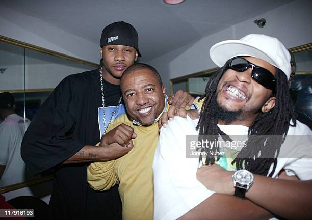 Carmelo Anthony Kevin Liles of Warner Bros and Lil Jon