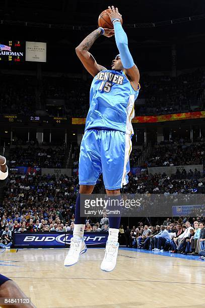 Carmelo anthony jumpshot getty images carmelo anthony of the denver nuggets shoots a jump shot during the game against the oklahoma voltagebd Choice Image