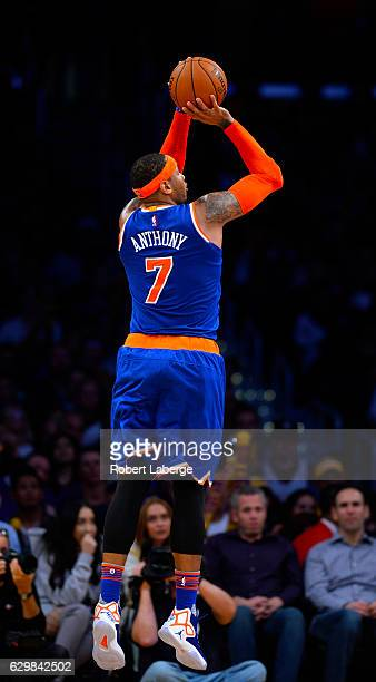 Carmelo anthony jumpshot getty images carmelo anthony of the new york knicks attempts a jump shot during the game against the voltagebd Choice Image