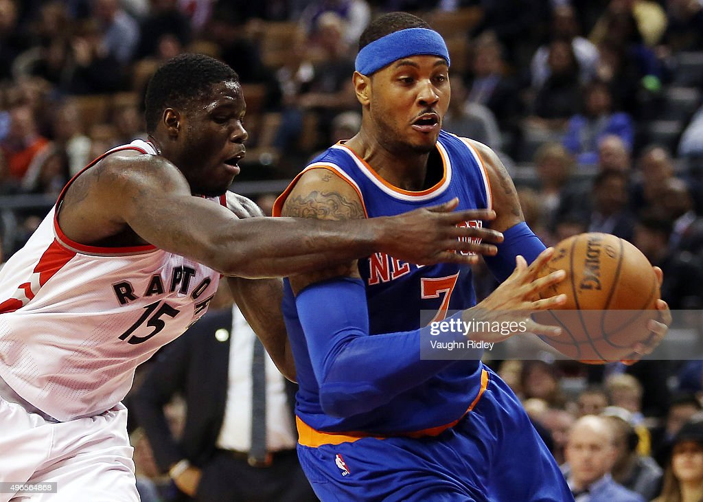 New York Knicks v Toronto Raptors : News Photo