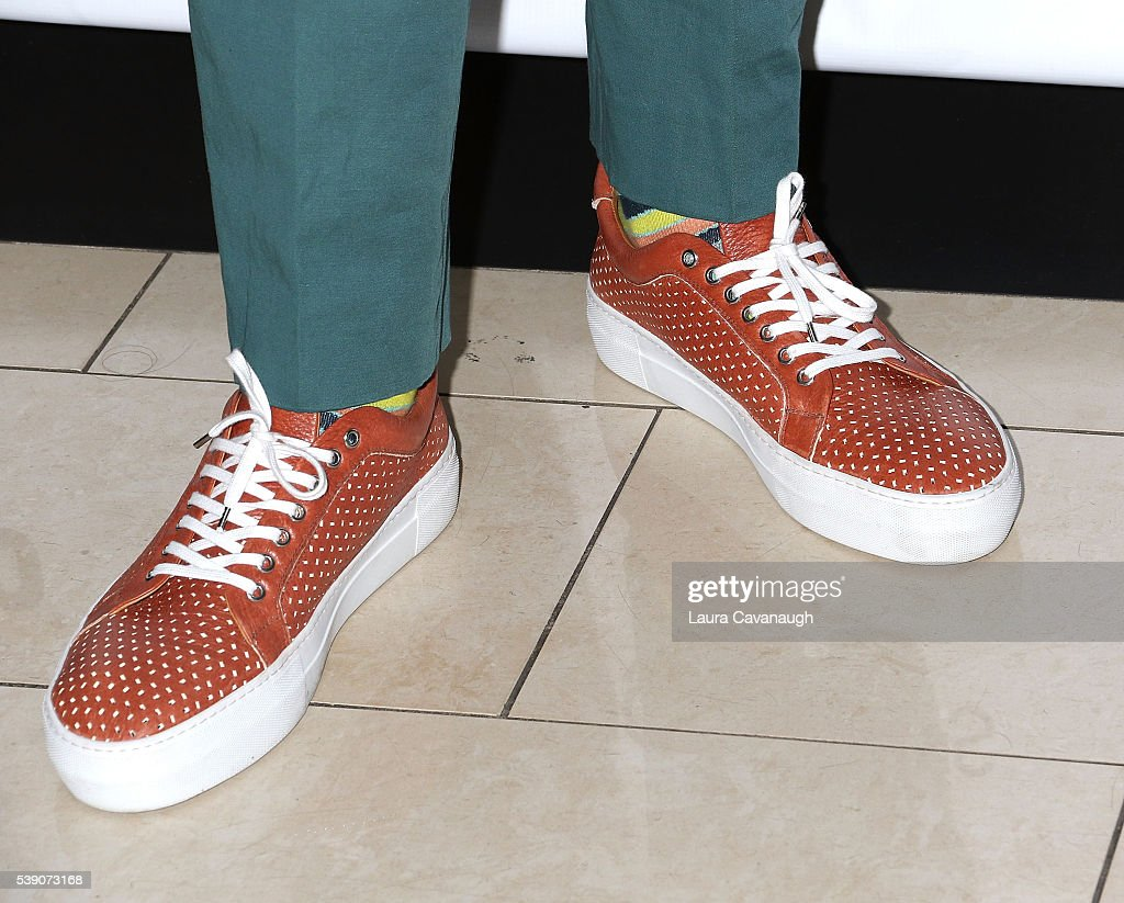 Carmelo Anthony, shoe detail, attends the Celebration of the
