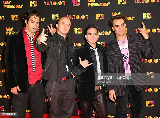 Carmelo de Cianuro arrives during Los Premios MTV Latin America 2007 at El Palacio de Los Deportes on October 18 2007 in Mexico City Mexico