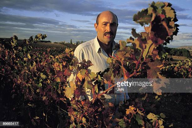 Carmelo Rodero manager Carmelo Rodero in his vineyard He is also owner of the cellars with his same name