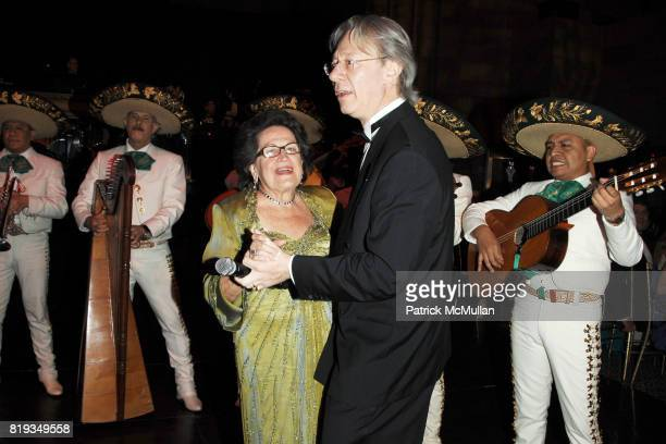 Carmen Ana Unanue and Julian Zugazagoitia attend EL MUSEO'S 2010 Annual Gala at Cipriani 42nd Street on May 27th 2010 in New York City