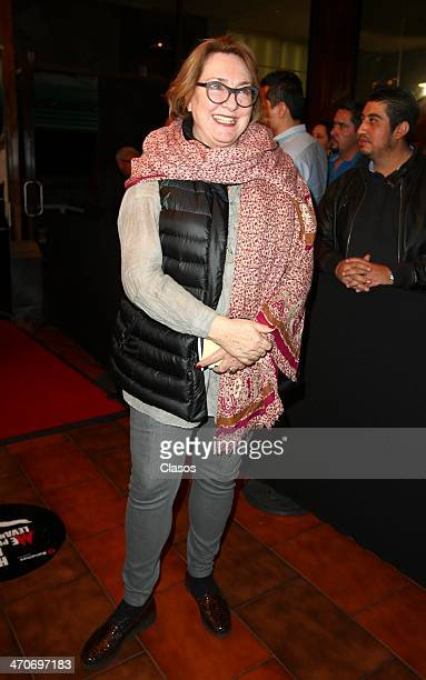 Carmen Armendariz attends the red carpet of 'Hoy no me puedo levantar' at Almada Theater on February 18 2014 in Mexico City Mexico