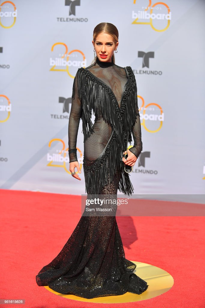 Carmen Aub attends the 2018 Billboard Latin Music Awards at the Mandalay Bay Events Center on April 26, 2018 in Las Vegas, Nevada.