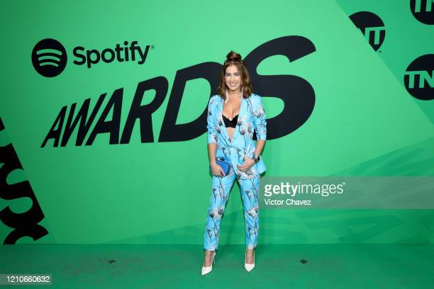 Carmen Aub attends the 2020 Spotify Awards at the Auditorio Nacional on March 05 2020 in Mexico City Mexico