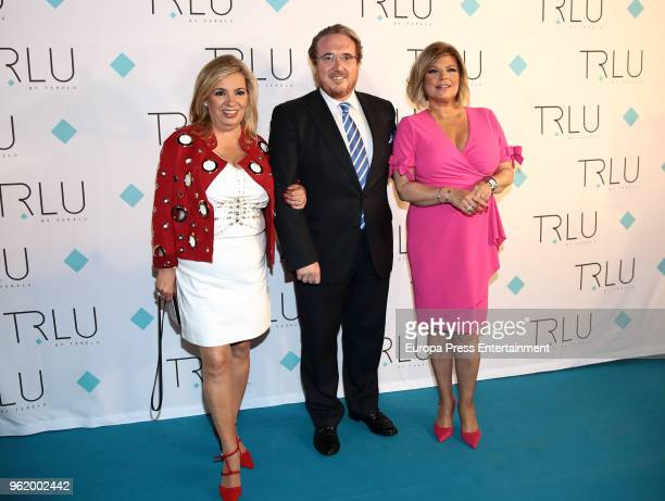 Carmen Borrego attend the presentation of the launching of Terelu Campos's first jewellry collection 'TRLU' on May 23 2018 in Madrid Spain