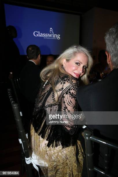 Carmen Busquets attends the 2018 Glasswing International Gala at Tribeca Rooftop on April 26 2018 in New York City