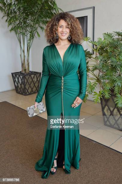 Carmen Cabana attends the Women In Film 2018 Crystal Lucy Awards presented by Max Mara Lancôme and Lexus at The Beverly Hilton Hotel on June 13 2018...
