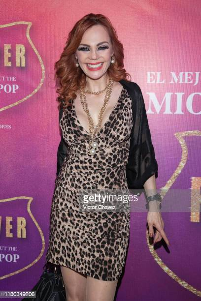 Carmen Campuzano attends the show Forever The Best Show About The King of Pop at Centro Cultural Teatro 1 on March 13 2019 in Mexico City Mexico